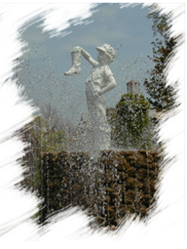 The Boy With the Boot in Washington Park, downtown Sandusky, Ohio