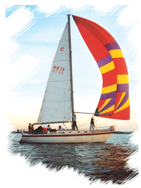 Knot-a-Clew sailing on Lake Erie's Sandusky Bay